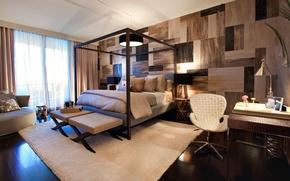 Картинка дизайн, стиль, комната, интерьер, Design, спальня, Interior, Project, Bedroom, small, Miami Beach, Residencial, The Bath …
