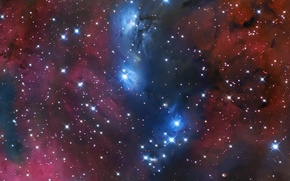 Картинка туманности, космос, звезды