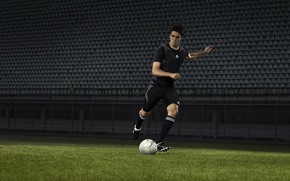 Картинка спорт, Футбол, sport, Adidas, Football, Клуб, Real Madrid, Футболист, Kaka, Рикардо Кака, Бутсы, Adidas Predator, …