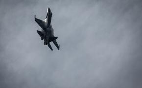 Обои реактивный, Су-35, полет, истребитель, многоцелевой