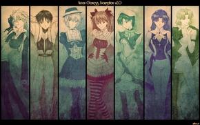 Картинка аниме, евангелион, evangelion, персонажи