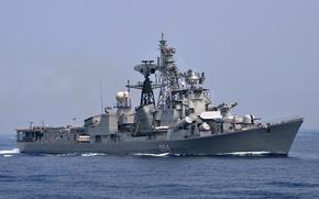 Картинка корабль, эсминец, противолодочный, проект 61-МЭ, Ranvir