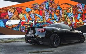 Картинка блики, черная, графити, Toyota, black, солнечно, тойота, GT 86
