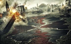 Картинка Лондон, Разрушения, 2012, Москва., Конец света