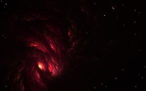 Обои В 'aakal сектор, Сектором Baakal, космос, звезды