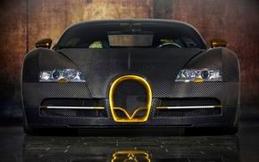 Обои mansory, veyron, bugatti