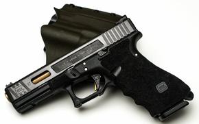 Картинка пистолет, оружие, glock