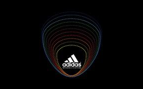 Картинка Черный, Лого, Фон, Адидас, Classic, Adidas