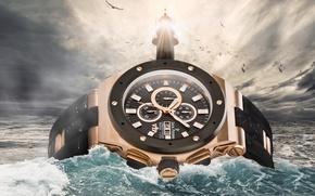 Картинка water, watch, Lighthouse, Jack Pierre