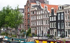 Картинка здания, Амстердам, Нидерланды, архитектура, Amsterdam, architecture