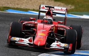 Картинка Ferrari, Formula, 2015, SF15-T