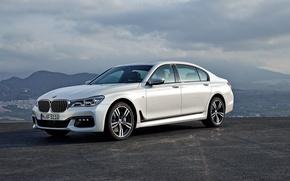 Картинка бмв, BMW, Sport, 750Li, xDrive, 2015, G12