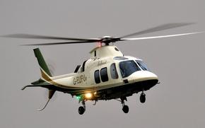 Картинка небо, helicopter, восьмиместный вертолет, Agusta A109S Grand