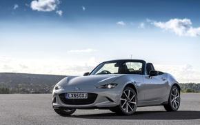 Обои Concept, концепт, мазда, Mazda, Spyder, MX-5