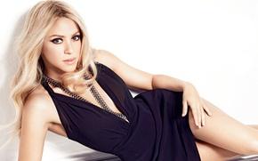 Картинка блондинка, певица, Shakira, Шакира