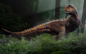 Картинка динозавр, Sastrei, Carnotaurus