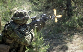 Картинка оружие, солдат, Estonian Army