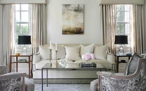Картинка комната, интерьер, гостиная, living room, Chatham