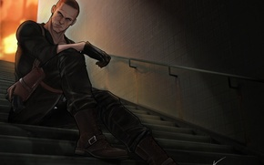 resident evil, 6, Jake Muller, Джейк Мюллер, обитель зла обои
