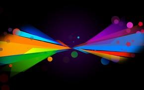 Картинка круги, абстракция, узоры, краски, colors, circles, patterns, abstraction, 2560x1600