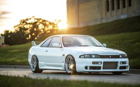 Картинка Nissan, white, skyline, jdm, tuning