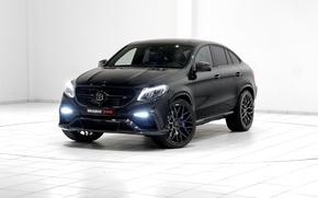 Картинка Brabus, Mercedes-Benz, брабус, черный, C292, GLE-Class, мерседес, внедорожник