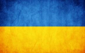 Обои флаг, Украина, текстуры