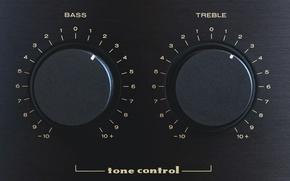 Обои treble, tone control, Bass
