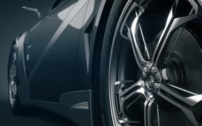 Картинка Concept Car, Rims, 3D Car, Everia, Tronatic