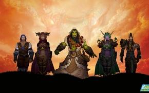 Картинка орк, wow, cataclysm, шаман, Тралл, ork, Thrall, аспекты драконов, world of wacraft, time of mortal, …