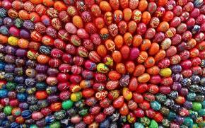 Картинка праздник, узор, яйца, пасха, роспись