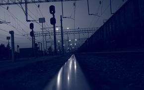 Картинка дорога, железная, путешествие