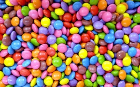 Обои candy, sweet, food, конфеты, confectionery, color