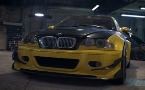 Картинка BMW, tuning, E46, Need For Speed 2015