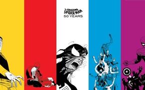Картинка коллаж, арт, комикс, марвел, Marvel Comics, Spider-Man, Peter Parker, Человек-Паук, Питер Пакер