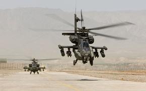 Картинка us air force, weapon, helicopter, Apache, AH-64 Apache, us army, AH-64, machine gun, Mistral, heavy …
