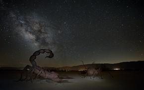 Картинка небо, космос, звезды, млечный путь