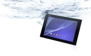 Картинка Вода, Пузырьки, Sony, Water, Планшет, Xperia, Tablet, Таблетка