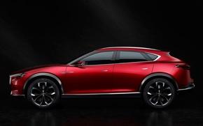 Картинка Concept, концепт, Mazda, сбоку, мазда, кроссовер, 2015, коеру, Koeru