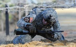 Картинка оружие, солдат, учения