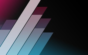 Картинка абстракция, полосы, ленты, узоры, краски, colors, stripes, patterns, ribbons, 1920x1080, abstraction