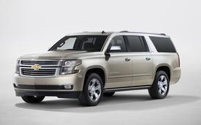 Картинка Chevrolet, внедорожник, эмблема, SUBURBAN