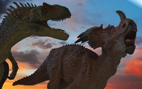 Картинка meteorite, extinction, dinosaurs
