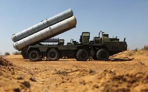 Картинка система, С-400, зенитная, российская, ракетная, дальности, большой и средней, «Триумф»