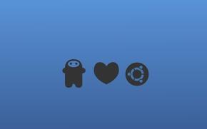 Картинка linux, love, ubuntu