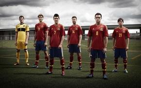 Картинка футбол, испания, Сборная испании
