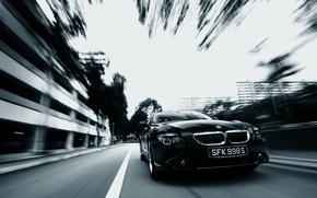 Обои авто, динамики, BMW, черный