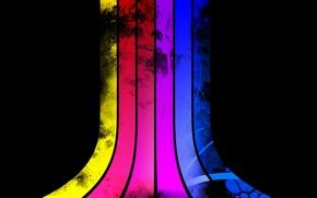 Картинка красный, red, yellow, stripes, purple, blue, фиолетовый, розовый, цвета, colors, pink, полоски, голубой, синий, желтый