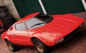 Картинка Lancia, 1973, Классическое авто, Stratos, High Fidelity, Bertone, Marcello Gandini, Вид на передок