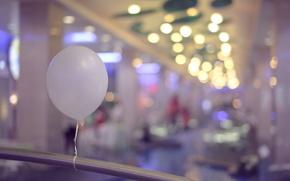 Картинка белый, шар, шарик, воздушный